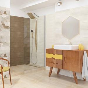 Nowość do łazienki: płytki jak tkanina