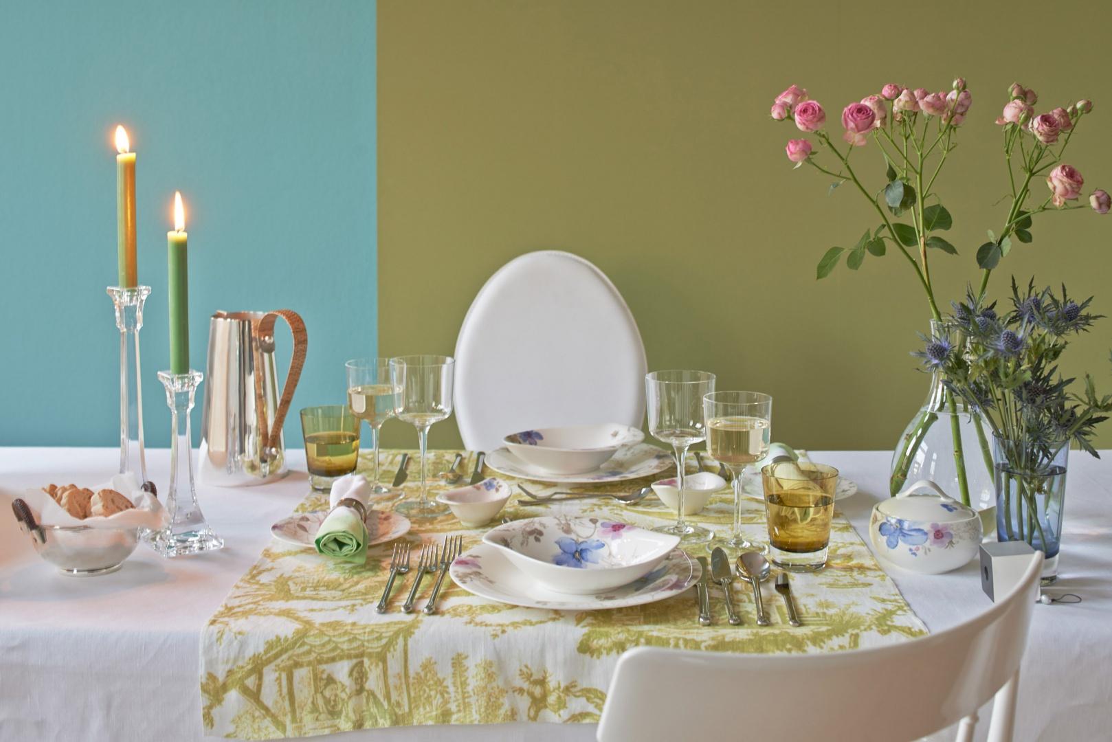 Romantyczna kolacja. Fot. Villeroy & Boch