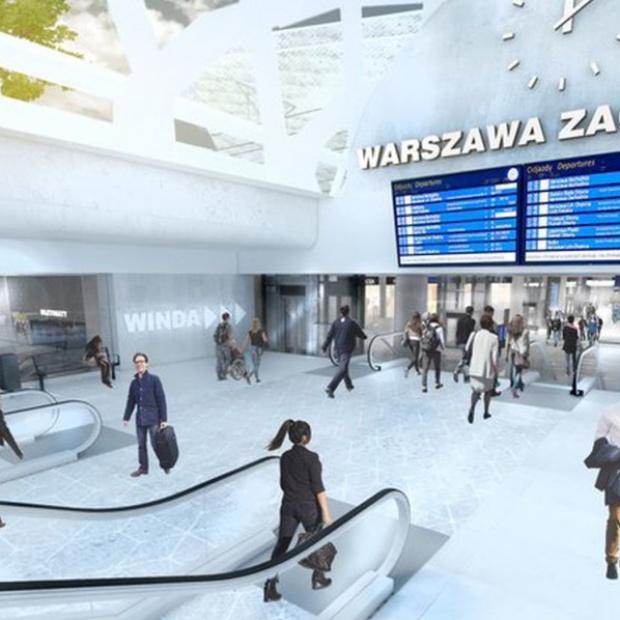 Modernizacja stacji Warszawa Zachodnia: bardziej przyjazna pasażerom
