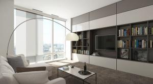 Poznaj 10 zasad, które pomogą wygospodarować dodatkowe miejsce i zapobiec zagraceniu niewielkiego mieszkania.