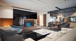 Asan to projekt, który idealnie sprawdzi się dla 4-osobowej rodziny doceniającej walory domów parterowych. Przejrzysty układ funkcjonalny został podzielony na przestronną część dzienną, wygodną strefę prywatną oraz obszerną część gospoda