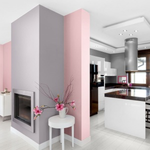 Kolor na ściany - tak prezentuje się róż we wnętrzach