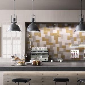 Modna kuchnia : płytki jak kafle
