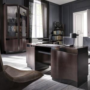 Domowe biuro: meble Diuna. Fot. Mebin