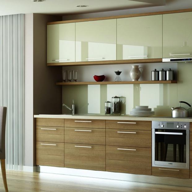 Modna kuchnia: meble lakierowane i akrylowe