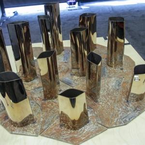Statuetki Property Design Awards zaprojektowane przez Oskara Ziętę
