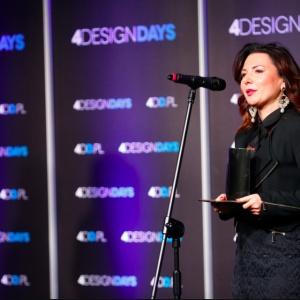 Hala Koszyki odebrała nagrodę w dwóch kategoriach. Statuetkę odebrała Edyta Bobek - Leasing Director, Griffin Real Estate.
