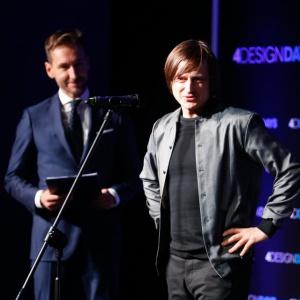 Oskar Zięta - gość specjalny Gali Property Design Awards 2017, autor projektu statuetek