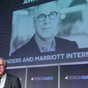 Wyróżniony Nagrodą Specjalną portalu PropertyDesign.pl został także Rob Reinders, Vice President, Design Management, Marriott International – Architecture & Construction.