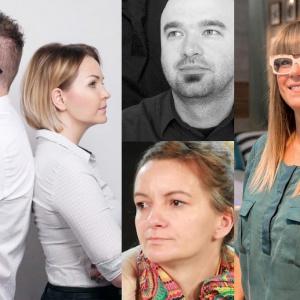 Od lewej: Tomasz Słomka, Marta Kilan, Piotr Stanisz, Joanna Ochota, Małgorzata Mataniak-Pakuła