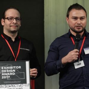 Nagroda dla firmy  Novatop za najlepsze stoisko 4 Design Days