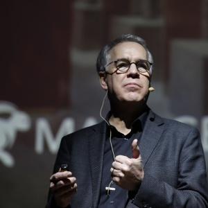 Rob Reinders, Vice President, Design Management w Marriott International - Architecture & Construction, podczas 4 Design Days.