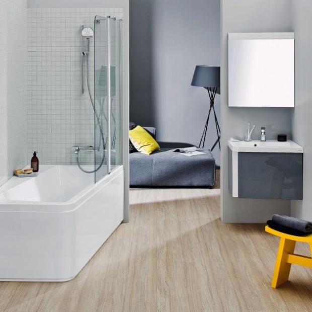 Urządzamy małą łazienkę: zobacz rozwiązania na niewielki metraż