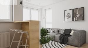 Małe mieszkanie jest dużym wyzwaniem dla każdego architekta, ale też dużym polem do popisu. Tym większym, jeśli niewielka przestrzeń ma spełniać wiele funkcji, a także zapewnić komfort życia.