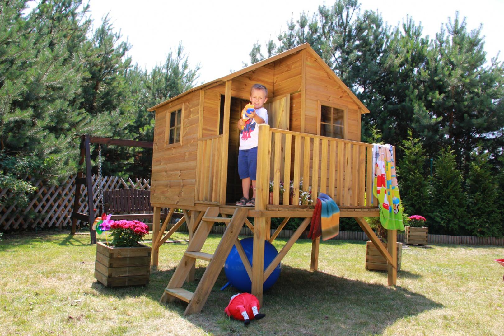 Domek drewniany Jerzyk. Fot. 4IQ