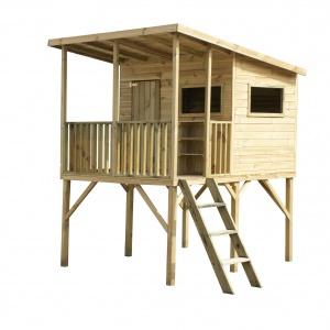 Domek drewniany Robinson. Fot. 4IQ
