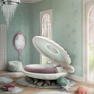 Łóżko dla małej syrenki Mermaid Bed. Fot. Circu
