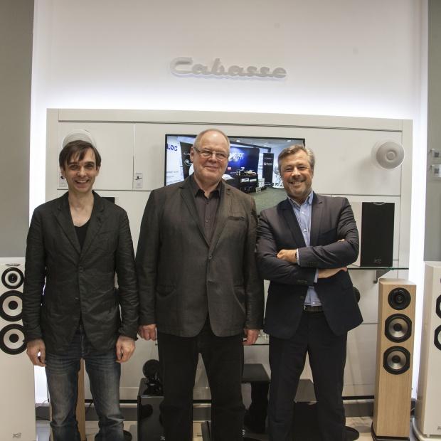 Otwarcie pierwszego salonu z ekskluzywnymi głośnikami