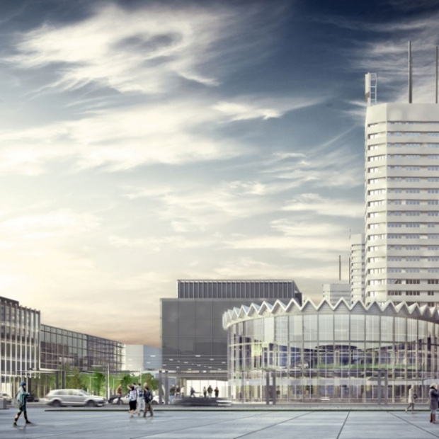 Nowa Rotunda w Centrum Warszawy