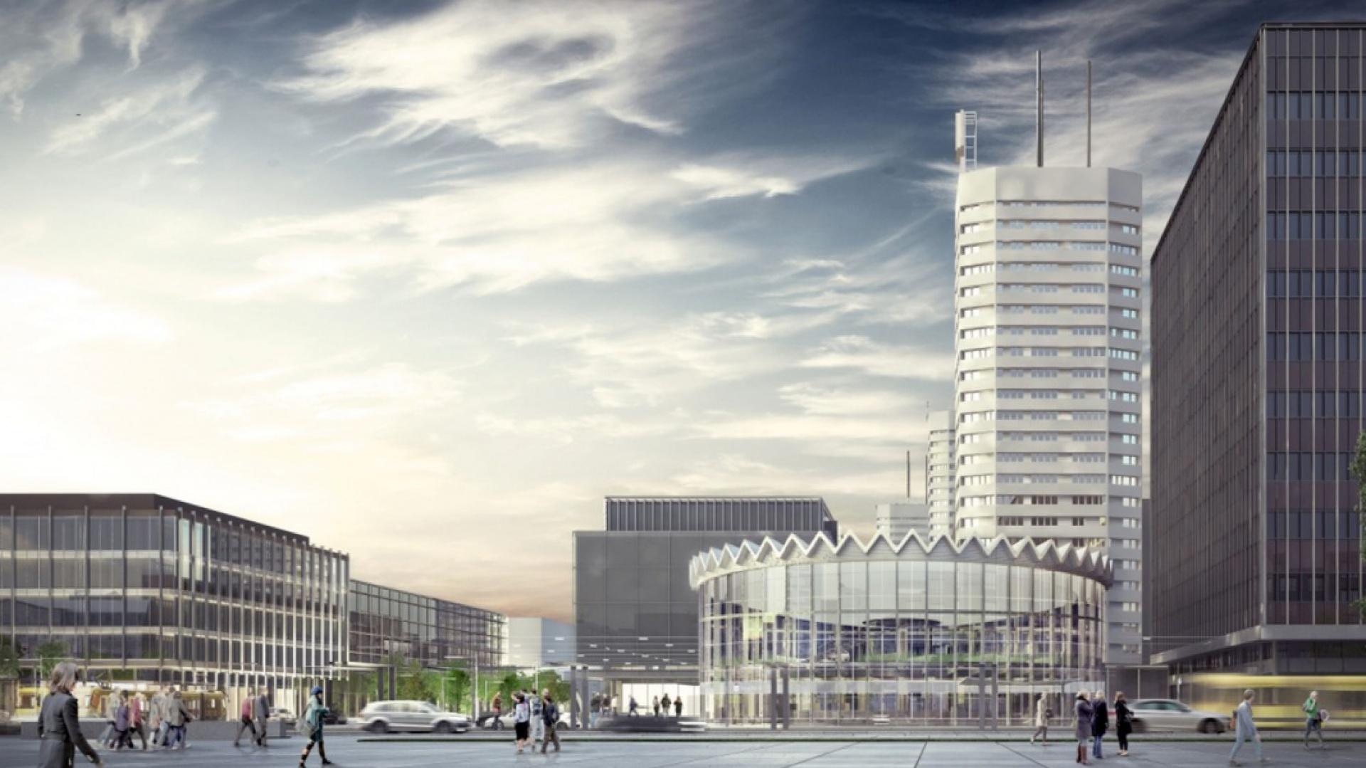 Wizualizacja modernizacji Rotundy i placu według Gowin & Siuta, fot. PKO BP
