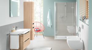 Aby wnętrze utrzymać w czystości na dłużej, producenci wyposażenia łazienek tworzą nowatorskie rozwiązania, które zmieniają codzienność. Walczą z bakteriami, osadami, smugami i nieczystościami, ograniczając czas przeznaczony na porządki d