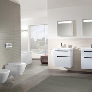 Higiena przede wszystkim – nowoczesne rozwiązania do łazienek. Fot. Villeroy & Boch