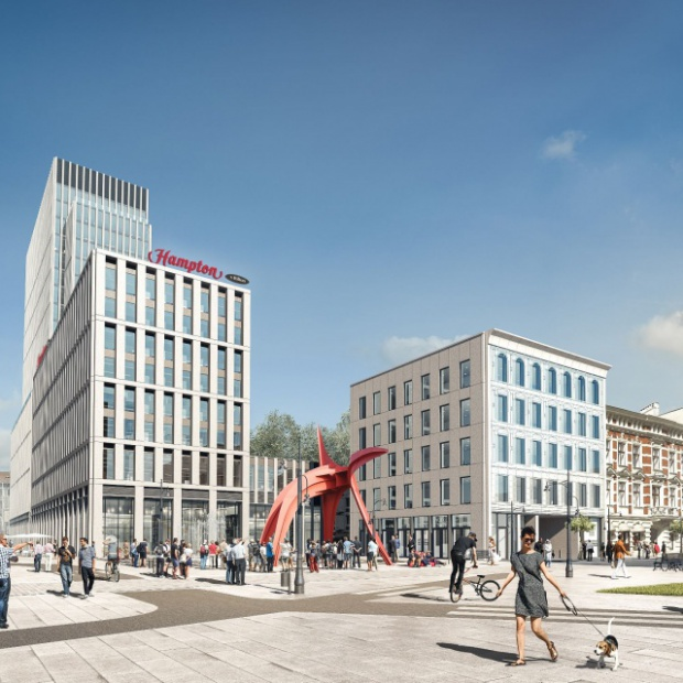 Powstaje najwyższy biurowiec w Łodzi