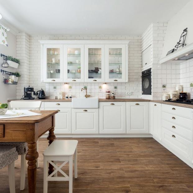 Sielska kuchnia - zobacz 10 pięknych projektów