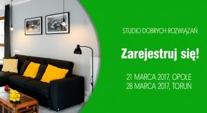 Studio Dobrych Rozwiązań po raz pierwszy w Opolu! Zapraszamy 21 marca do Centrum Wystawienniczo-Kongresowego na spotkanie z dobrym wzornictwem, oryginalnymi pomysłami oraz cenionymi architektami, których prace inspirują całą branżę. To miejsce dl