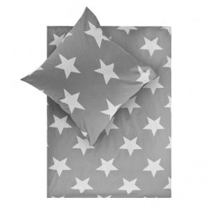 Pościel Stars, szara, 179 zł, Fot. Westwing