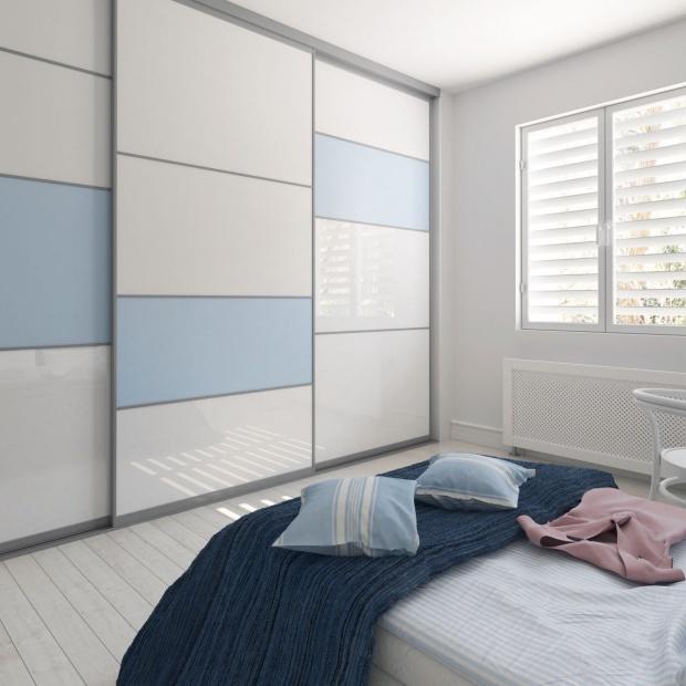 Szkło lakierowane: nowy materiał na fronty meblowe