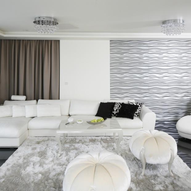 15 pomysłów na ścianę w salonie