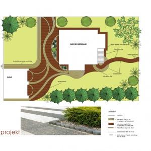 Projekt nawierzchni ogrodowych. Fot. Buszrem