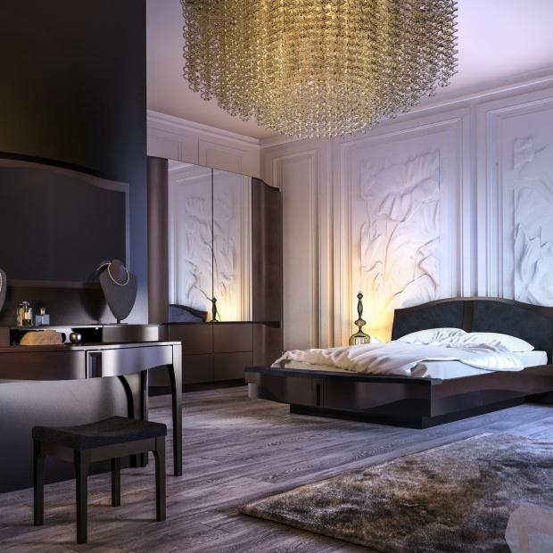 Sypialnia jak ze snu: piękna kolekcja mebli