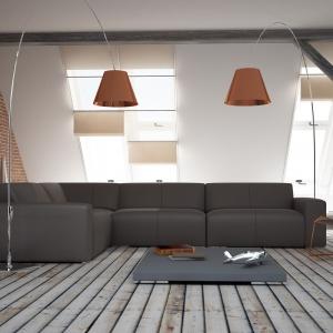 Szary we wnętrzu. Na zdjęciu: sofa Contenza, Adriana Furniture. Fot. Adriana Furniture