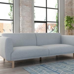 Szary we wnętrzu. Na zdjęciu: sofa Enna, Adriana Furniture. Fot. Adriana Furniture