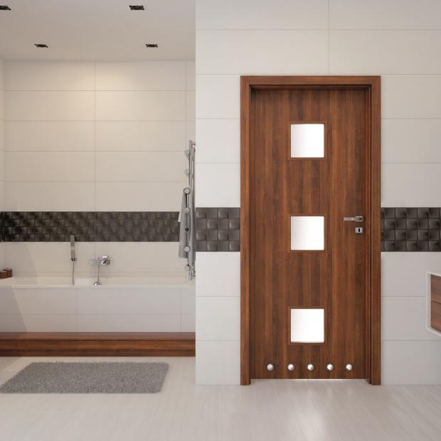 Drzwi do łazienki: zobacz piękny model