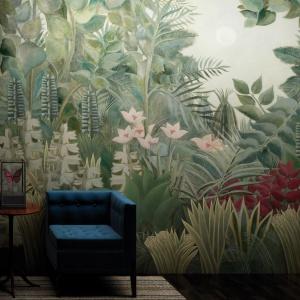 Pomysł na ścianę w salonie. Fot. Glamora