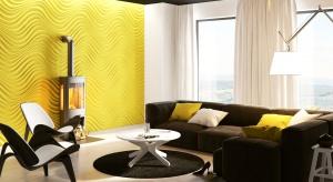 Fototapety, panele dekoracyjne, tynk strukturalny - do wyboru jest wiele materiałów na ściany, dzięki którym nasz salon zyska wyjątkowy charakter.