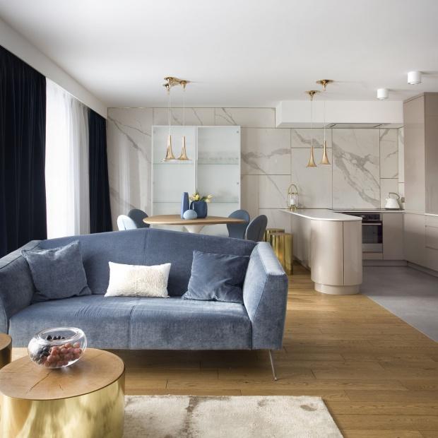 Piękny, nowoczesny apartament - zobacz wyjątkowe wnętrze