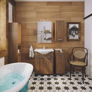 Meble do łazienki  Amalfi. Fot. Defra