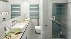 Loft to popularny styl aranżacji wnętrz. Sprawdza się także w łazienkach, którym nadajemodny, minimalistyczny wygląd.