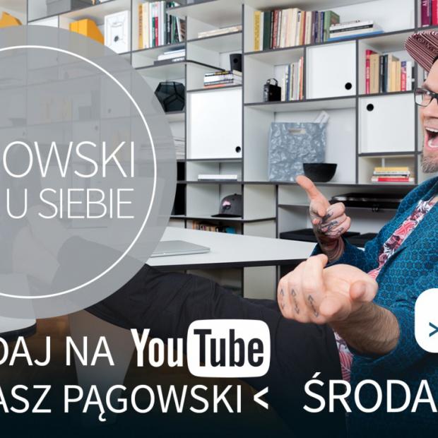 Tomasz Pągowski i domowe biuro
