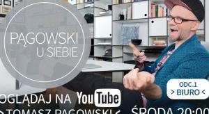 """""""Pągowski u Siebie"""" to program emitowany na platformie YouTube. W siedmiu odcinkach Tomasz Pągowski opowie o tworzeniu od podstaw swojego home office."""