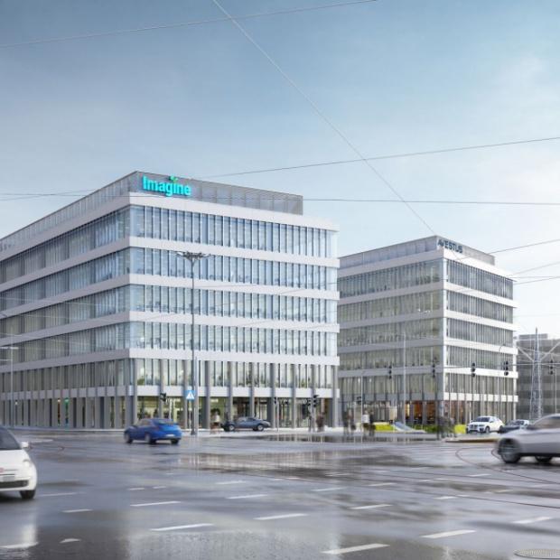 Imagine - nowy kompleks biurowy w centrum Łodzi