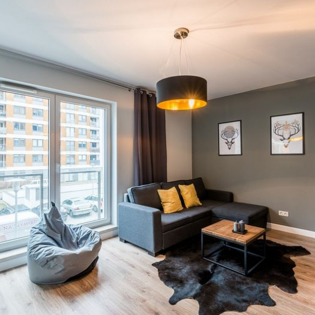 Małe mieszkanie dla młodej pary