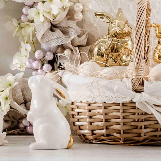 Wielkanocny koszyczek: pomysły na jego dekorację
