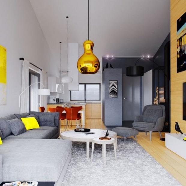 Mały dom: zobacz projekt i wnętrza