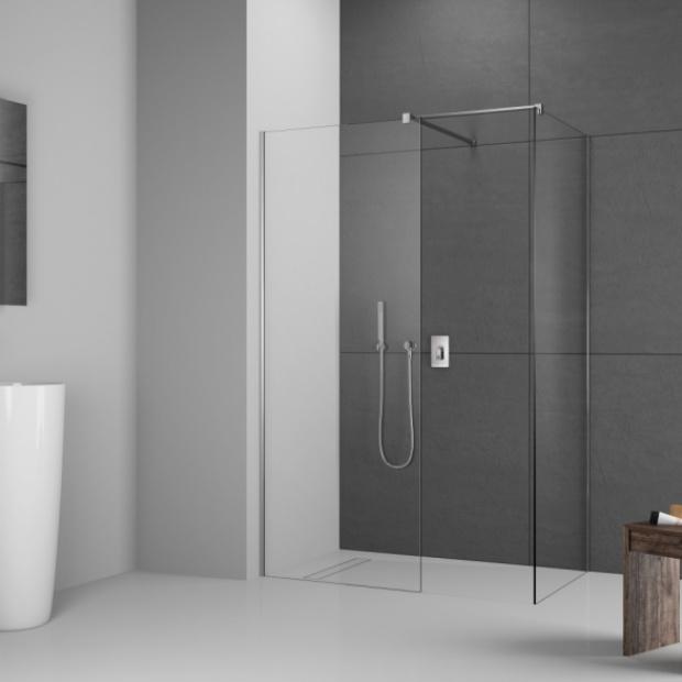 Kabina prysznicowa typu walk-in: wybierz model dla siebie