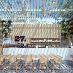Cafe 27 - projekt kawiarni w Pekinie. Fot. Hu Yihuai.